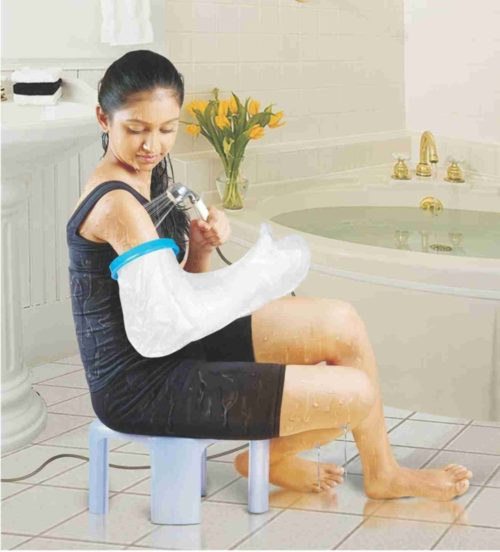 CompleteMedical BJ110102 Waterproof Cast & Bandage Protector Adult Long Arm