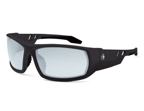 Corporation Skullerz Odin Safety Glasses - Black Frame, Indoor & outdoor Lens, Nylon