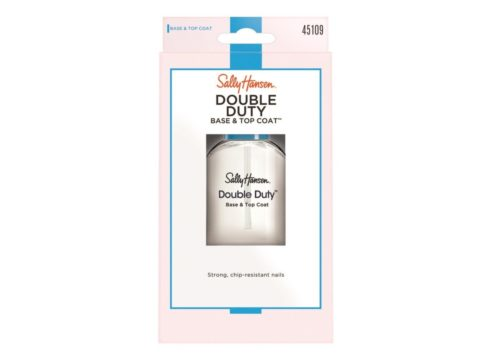 Coty US 7417055 Sally Hansen Double Duty Base & Top Coat, Clear 2239 - Pack of 2