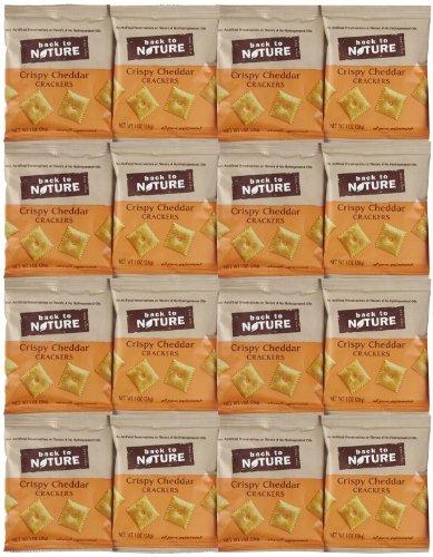 Crispy Cheddar Cracke Roasted 1Oz 1 (Pack of 4)