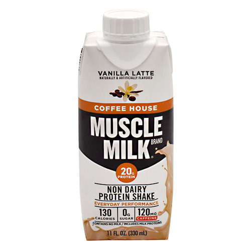 Cytosport 400638 11 fl oz Muscle Milk RTD Protein Shake, Vanilla Latte - 12 Per Case