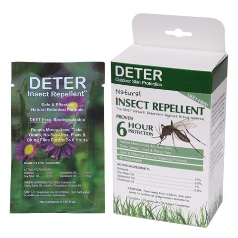 D001-9106 Insect Repellent Towelettes 10 pckg