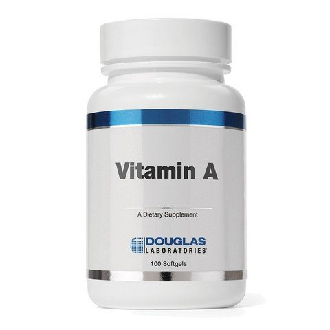 DGLB04 Vitamin A Softgels, 100 Count