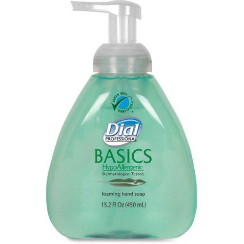 DIA98609 15.2 oz Basics Foaming Soap with Aloe - Fresh Scent, Green