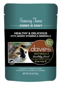 DP11758 2.8 oz Cat Saucy Tuna Gravy, Case of 24
