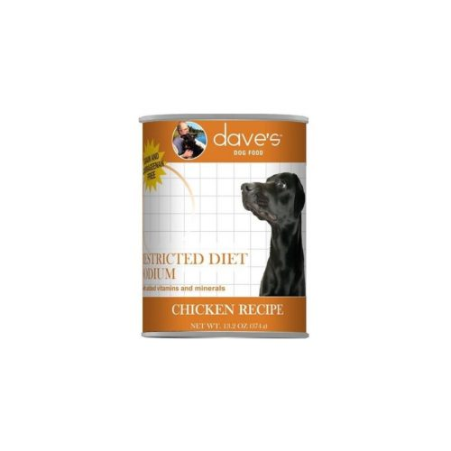 DP11801 13 oz Dog Restricted Can Sodium Chicken Recipe - Case of 12