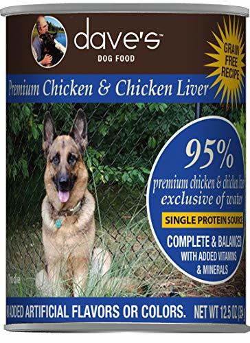 DP11805 13 oz Premium Chicken & Chicken Liver 95 Percentage Meat, Case of 12