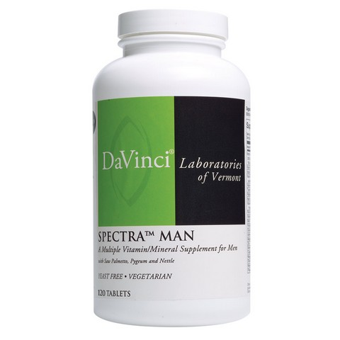 DVL103 Spectra Male Specialties Prostate Vitamins, 120 Count
