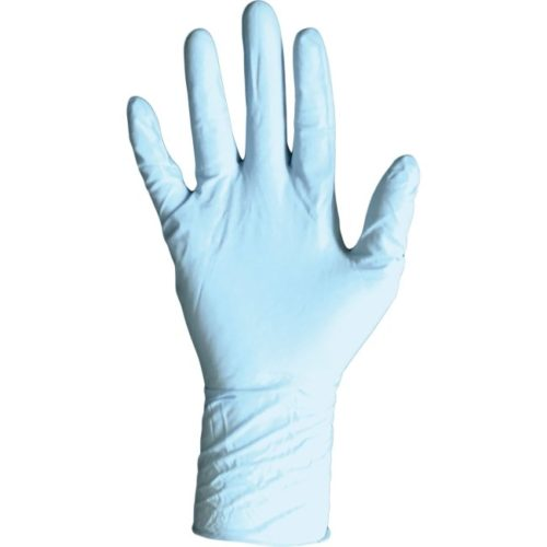 DVM8648M Disposable Nitrile PF Exam Glove, Medium - Blue