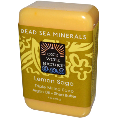 Dead Sea Mineral Lemon Verbena Soap - 7 Oz - -Pack of 1