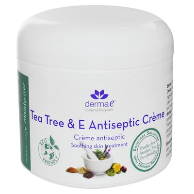 Derma E 0130245 Tea Tree and E Antiseptic Creme - 4 oz