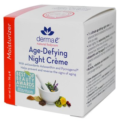 Derma E 0160895 Age-Defying Night Creme - 2 oz
