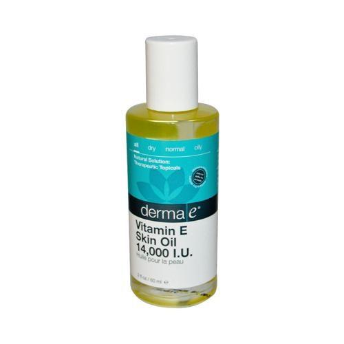 Derma E HG0130070 2 fl oz Vitamin E Skin Oil - 14000 IU