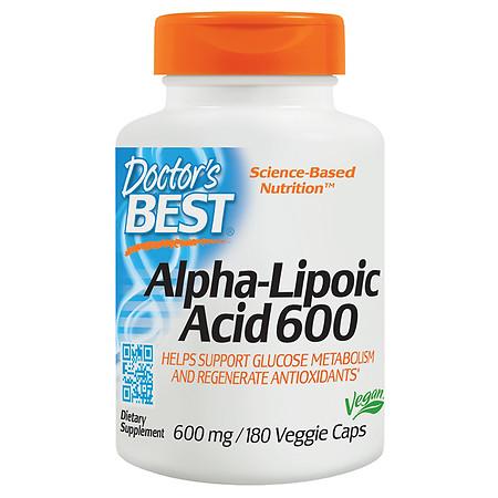Doctor's Best Alpha-Lipoic Acid 600 - 180.0 ea