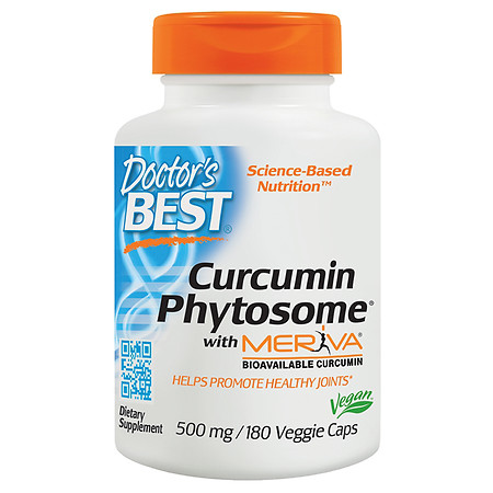 Doctor's Best Curcumin Phytosome, Veggie Caps - 180.0 ea