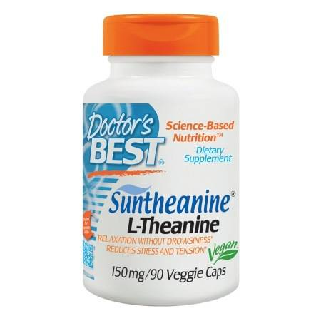 Doctor's Best Suntheanine L-Theanine, 150mg, Veggie Caps - 90.0 ea