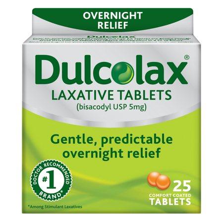 Dulcolax Laxative Tablets - 25.0 ea