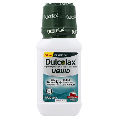Dulcolax Liquid Laxative Cherry - 12.0 oz