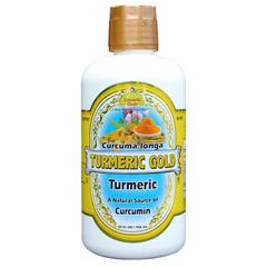 Dynamic Health 1739176 32 oz Gluten Free Turmeric Gold Juice