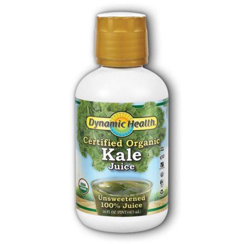 Dynamic Health 234064 16 fl. oz Organic Kale Juice Blends, Plastic