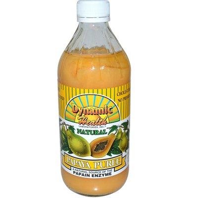 Dynamic Health Papaya Puree - 16 Fl Oz
