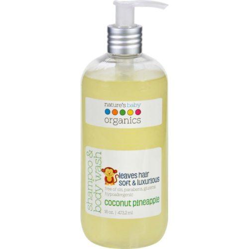 ECW1624360 16 oz Shampoo & Body Wash Coconut Pienapple