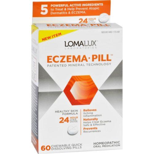 ECW1730639 Acne Eczema Chewable Quick Dissolving - 60 Count