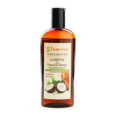 ECW1791417 8 oz Coconut Hair & Body Oil