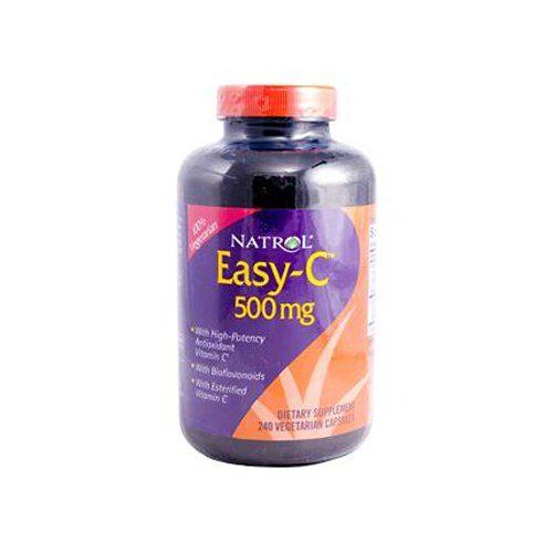 ECW259911 Easy-C with Bioflavonoids 500 mg., 1 x 240 Veg Capsules