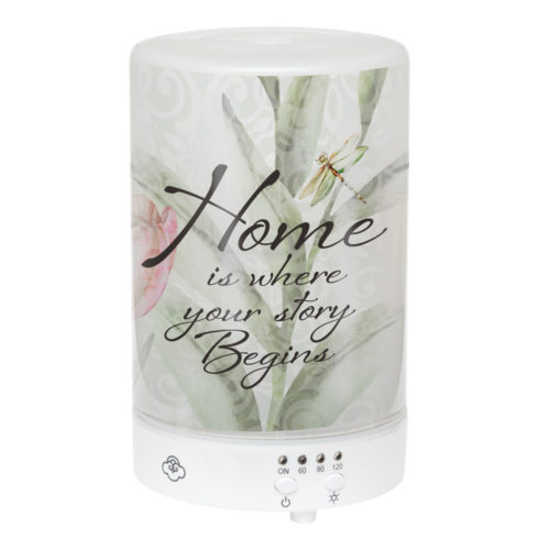 EDF28 Home is Where Your Story Begins - Essential Oil Diffuser