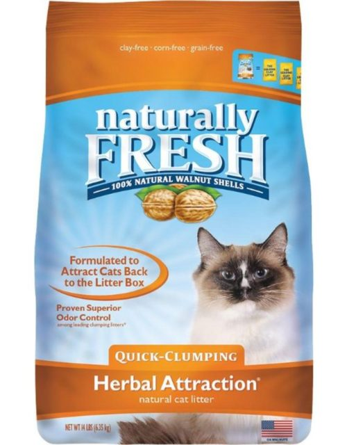 ES22006 14 lbs Naturally Fresh Herbal Attraction Clumping Cat Litter