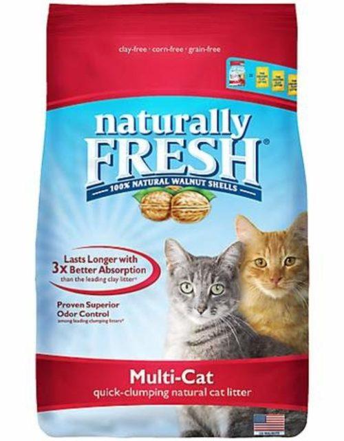 ES23003 26 lbs Naturally Fresh Multi Cat Litter