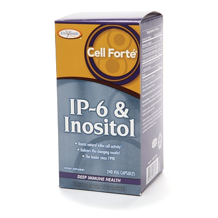 Enzymatic Therapy Cell Forte IP-6 & Inositol, Vegetarian Capsules - 240.0 ea