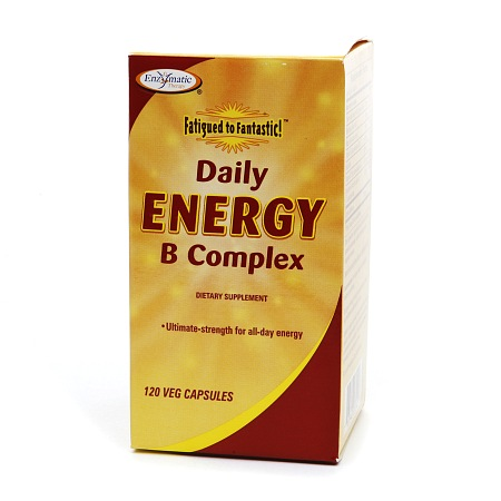 Enzymatic Therapy Daily Energy B Complex, Vegetarian Capsules - 120.0 ea