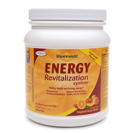 Enzymatic Therapy Energy Revitalization System Drink Mix Citrus - 25.0 oz