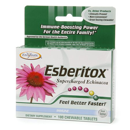 Enzymatic Therapy Esberitox, Chewable Tablets - 100.0 ea