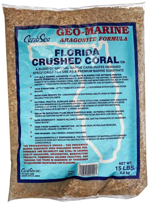 Estesc 346058 15 lbs Crushed Coral for Aquarium, Pack of 2