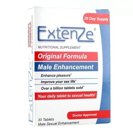 Extenze Original Formula Male Sexual Enhancement - 30.0 ea