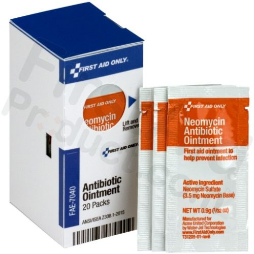 FAE7040 Antibiotic Ointment Packet