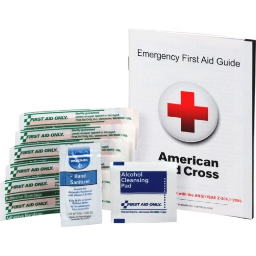 FAOFAE6017 First Aid Guide Refill - White