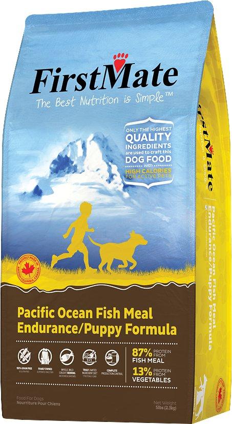 FI10070 Endurance & Puppy Pacific Ocean Fish Meal Formula Grain-Free Dry Dog Food