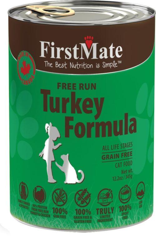 FI22213 Turkey Formula Grain-Free Canned Cat Food
