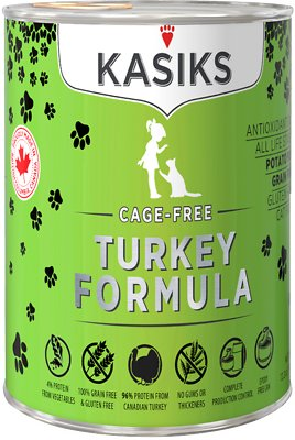 FI22336 Cage-Free Turkey Formula Grain-Free Canned Cat Food