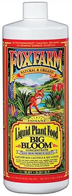 FX14002 Quart Big Bloom Liquid Plant Food Concentrate