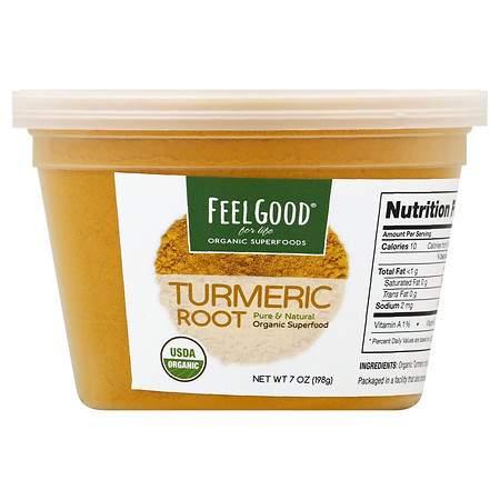 Feel Good Superfoods Turmeric Root Powder - 7.0 oz.