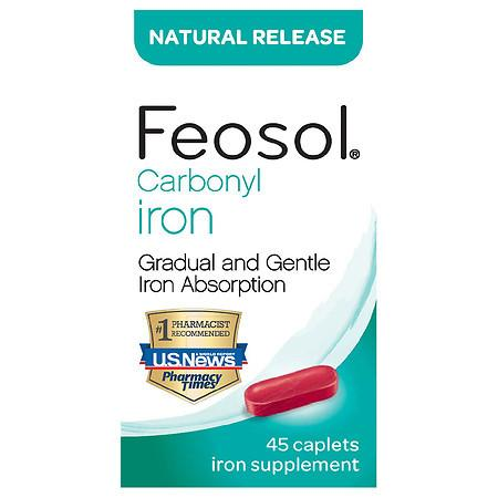 Feosol Iron Supplement Caplets - 45.0 ea