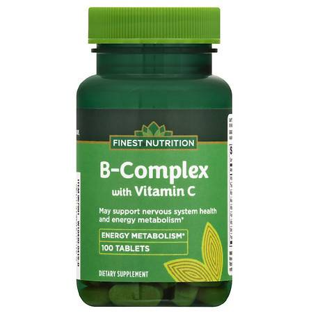 Finest Nutrition B Complex 500 mg Tablets - 100.0 ea