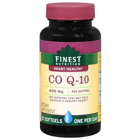 Finest Nutrition Co Q-10 400 mg Dietary Supplement Softgels - 30.0 ea