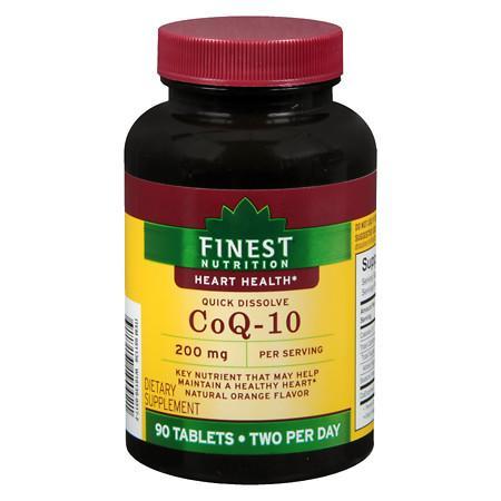 Finest Nutrition CoQ10 200 mg Quick Dissolve - 90.0 ea