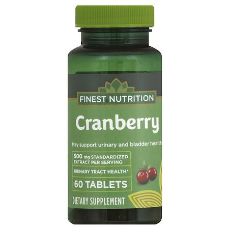Finest Nutrition Cranberry 500 mg - 60.0 ea